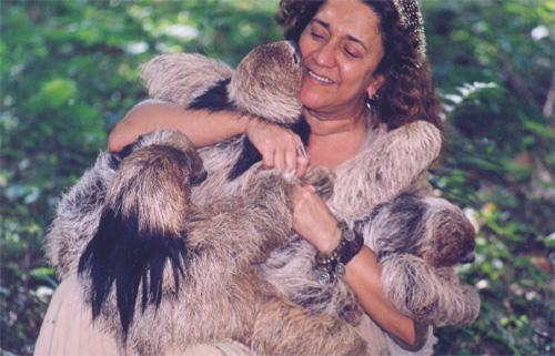 """Vera""- mother of all sloths, biologist"