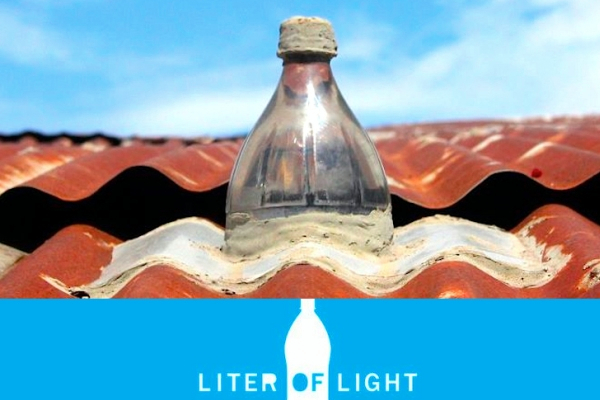 One liter of light