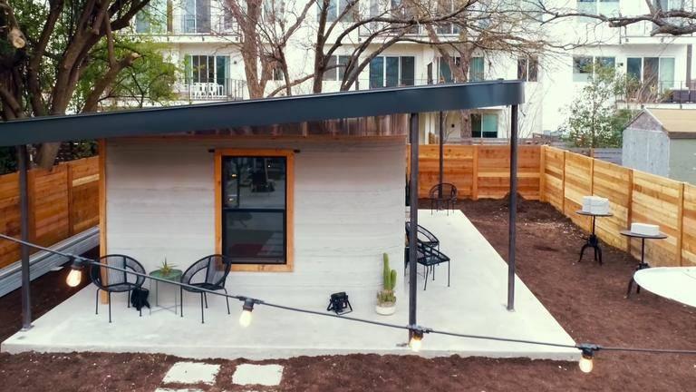 3D-Drucker errichtet 10.000-Dollar-Haus innerhalb von 24 Stunden