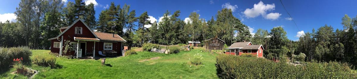 Leben in der Natur in Schweden