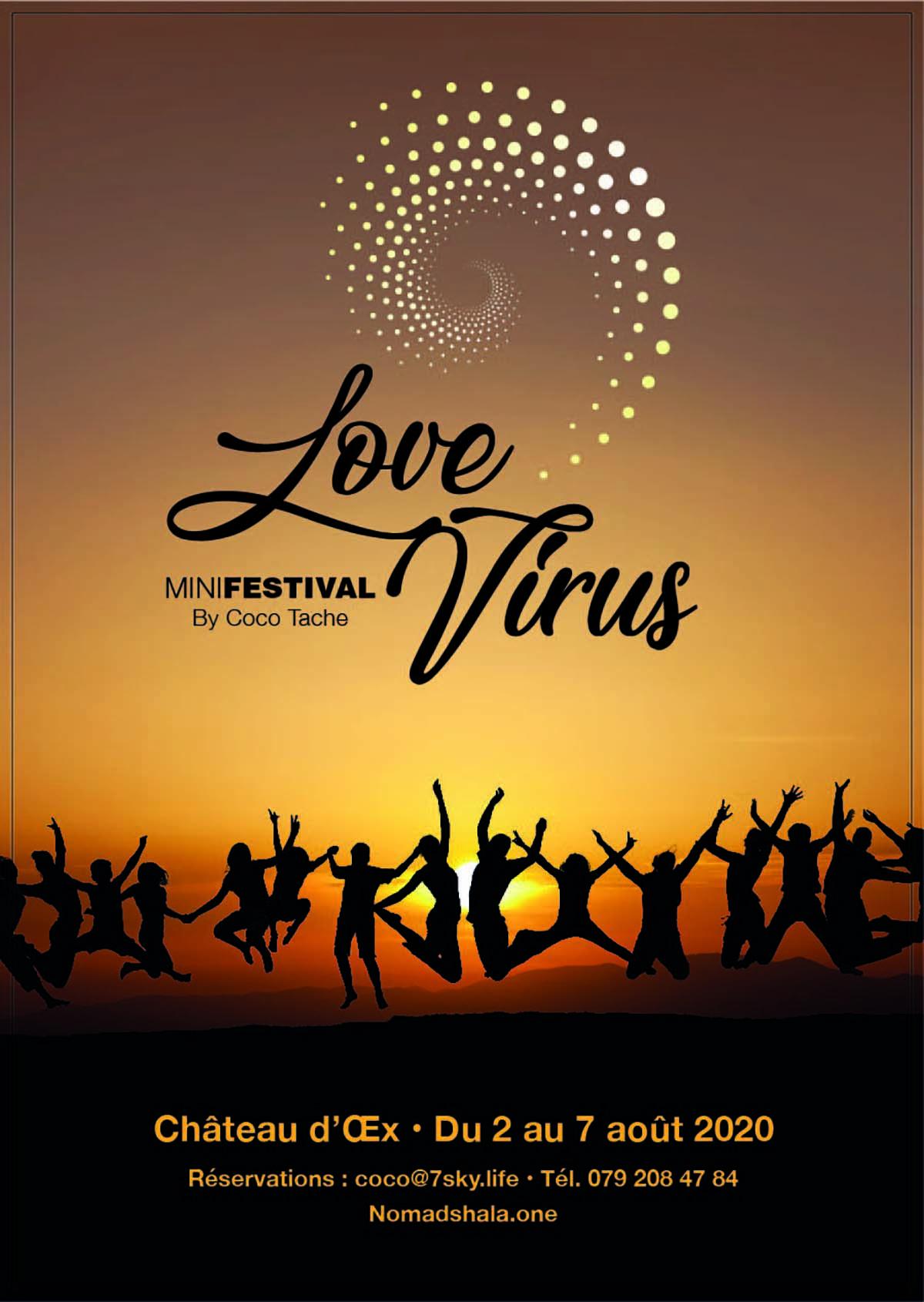 LoveVirus Minifestival by Coco Tache, Château d'Oex, du 2 au 7 août 2020