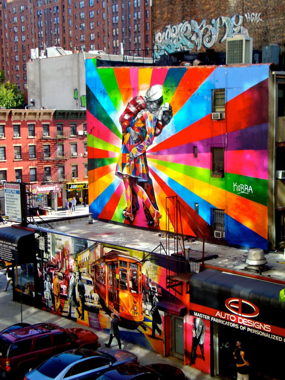 Eduardo Kobra – Un artiste haut en couleur