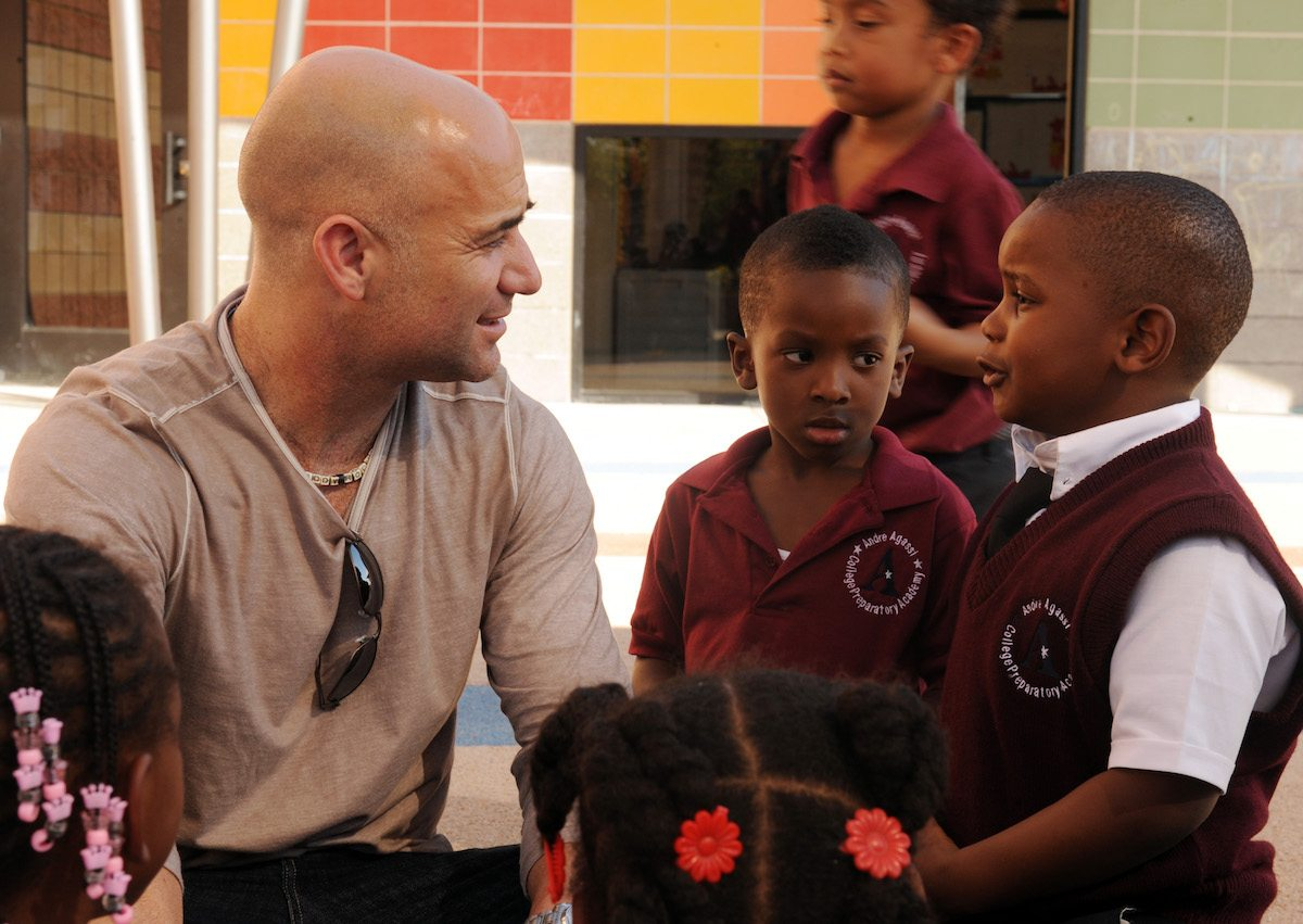 The André Agassi Foundation transforms the school'system'