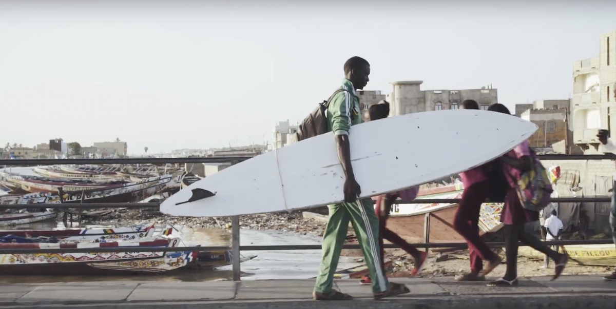 A sneak peeks into the new movie Beyond. An African Surf Documentary.
