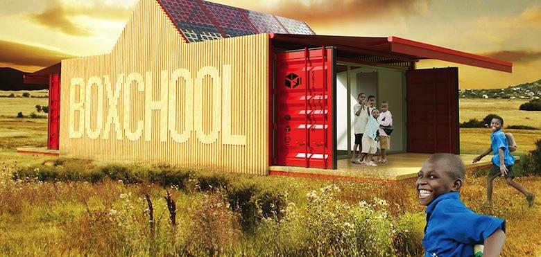 Boxschool : l'école portable