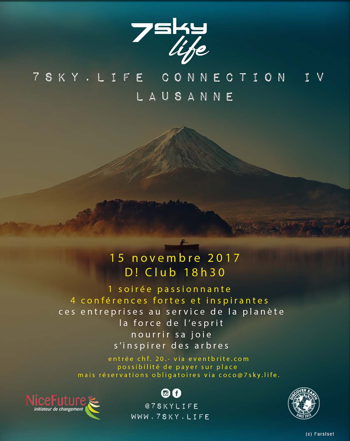 7sky.life Connection IV Lausanne – 15 novembre D!