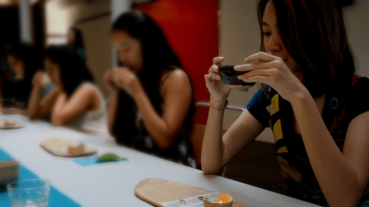 Singapurs' 1. Silent Tea Bar 'Hush'