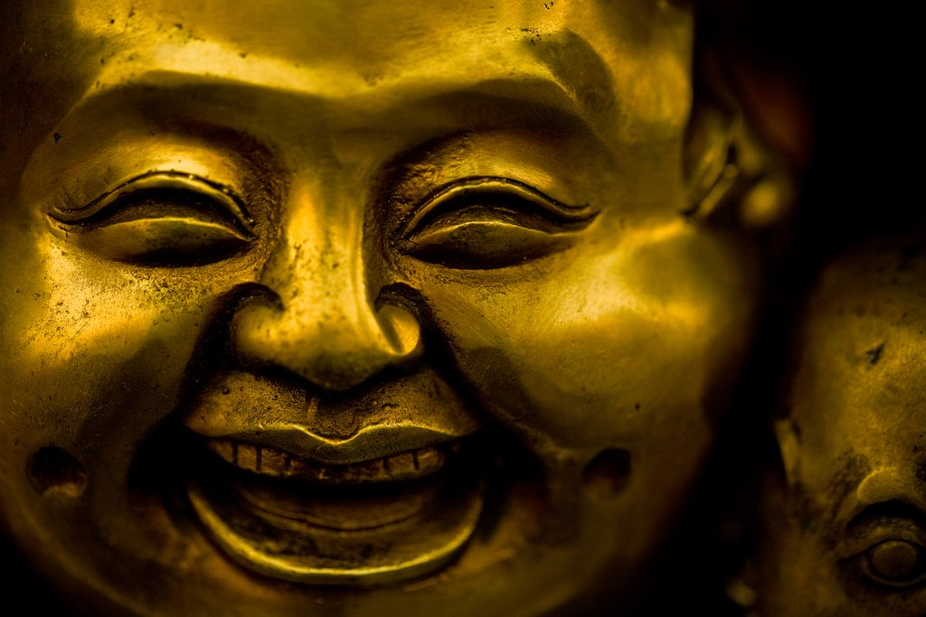 The laughing of Buddha with Mooji