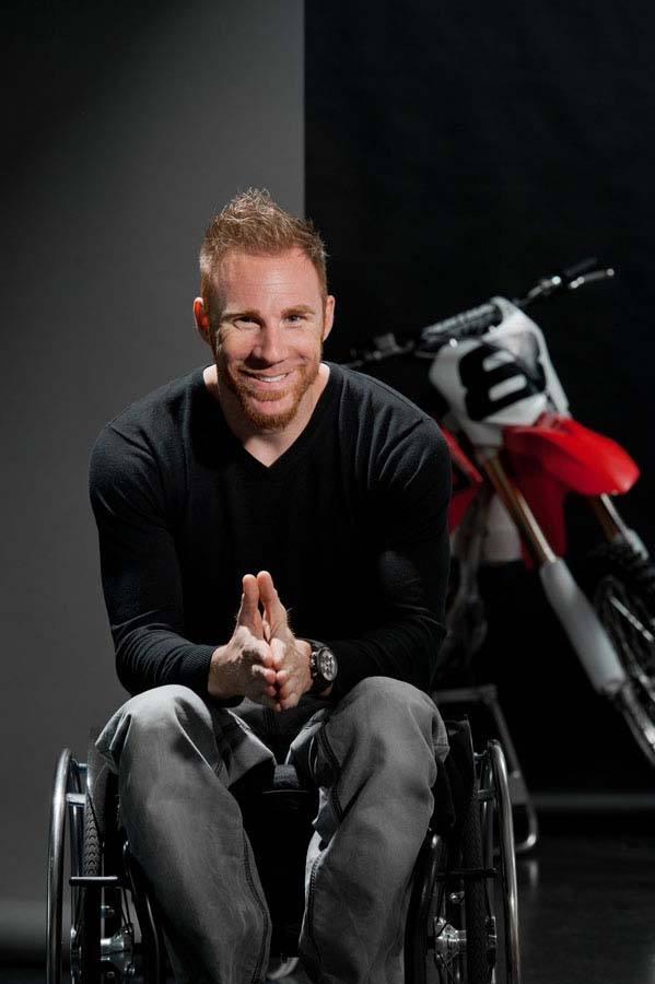 Aujourd'hui le handicap est ma force !  Marc Ristori