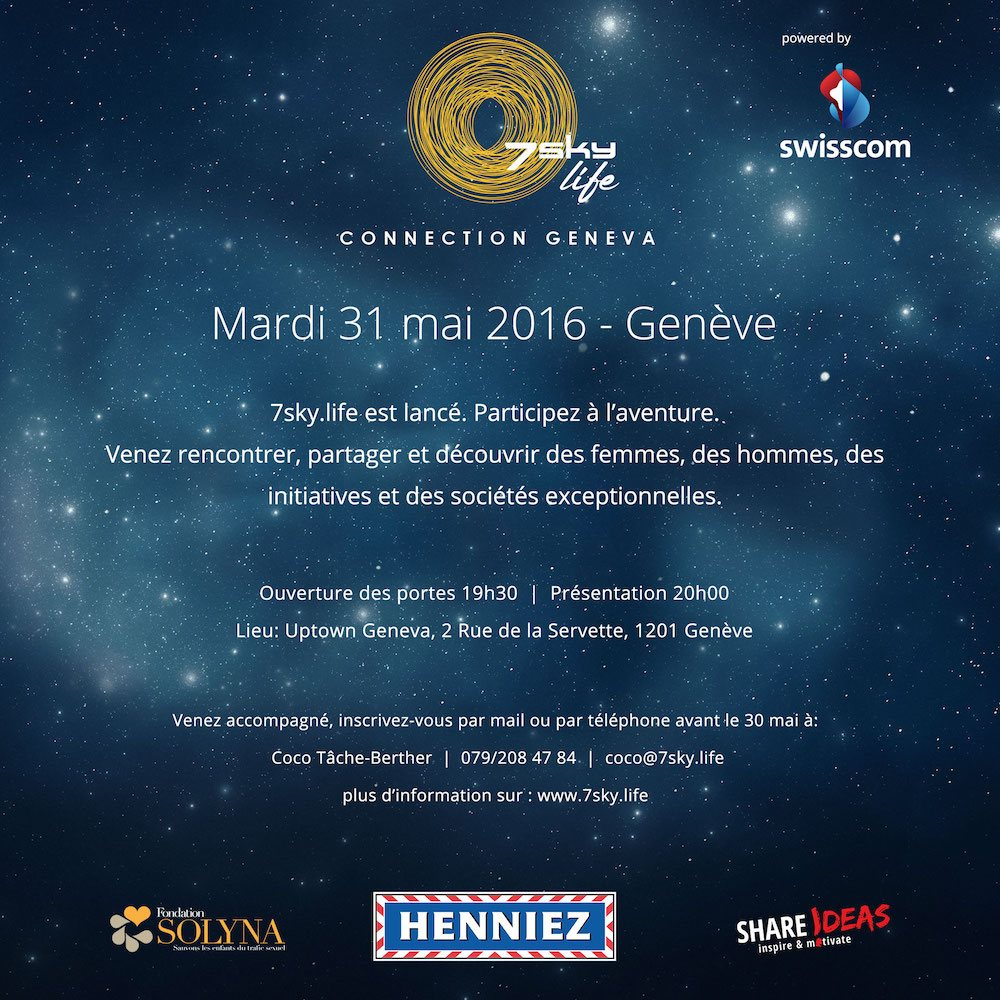 7sky.life Connection Geneva 31 mai 2016