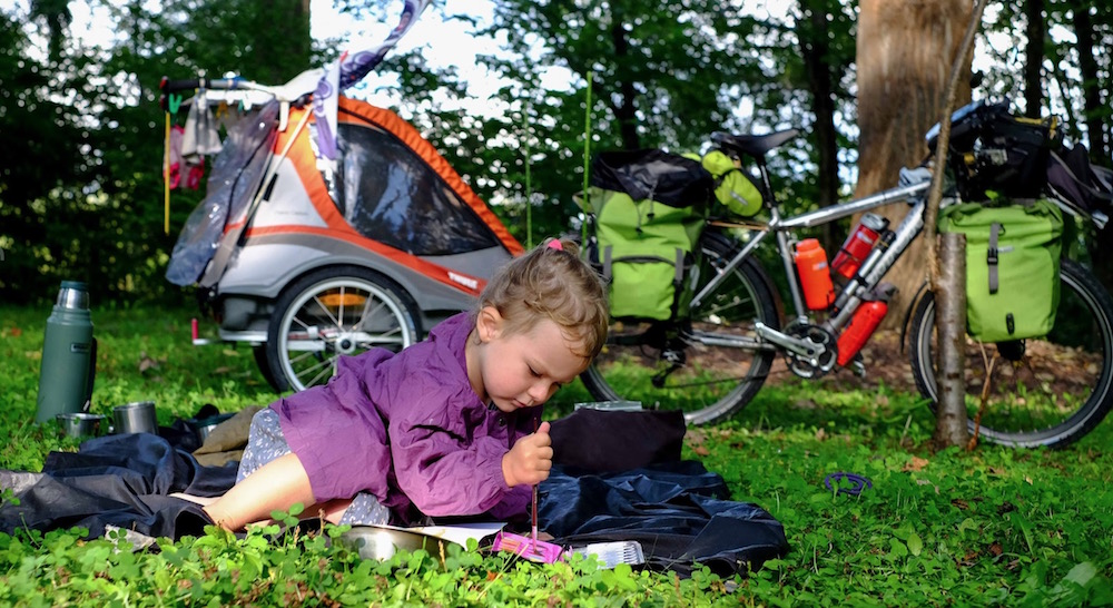 Homeschooling Around the World by Bicycle