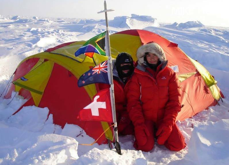 The youngest kids to ski to the North Pole