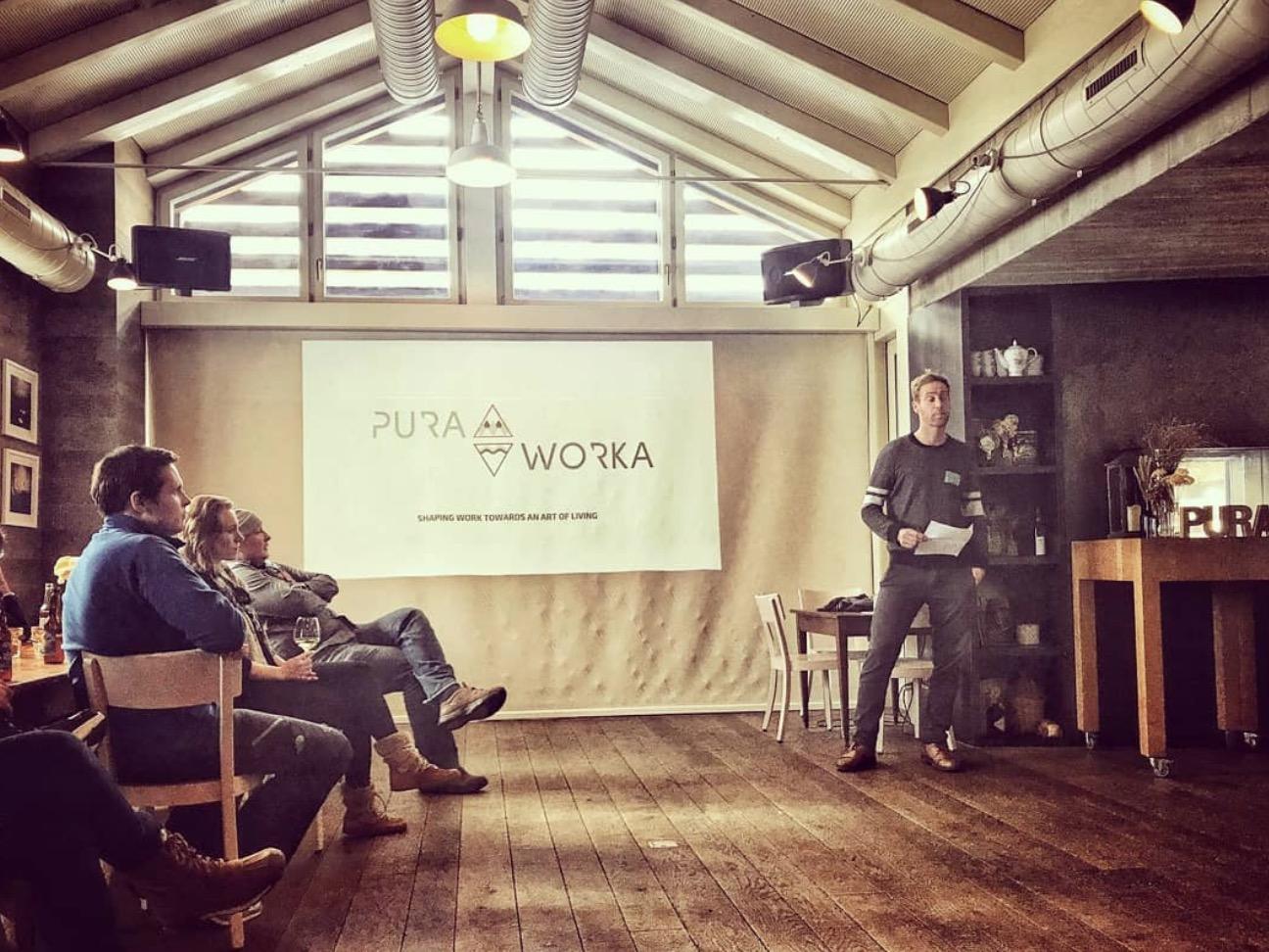 PuraWorka: Un nouveau mode de worklifestyle dans des cadres de rêve à travers le monde.
