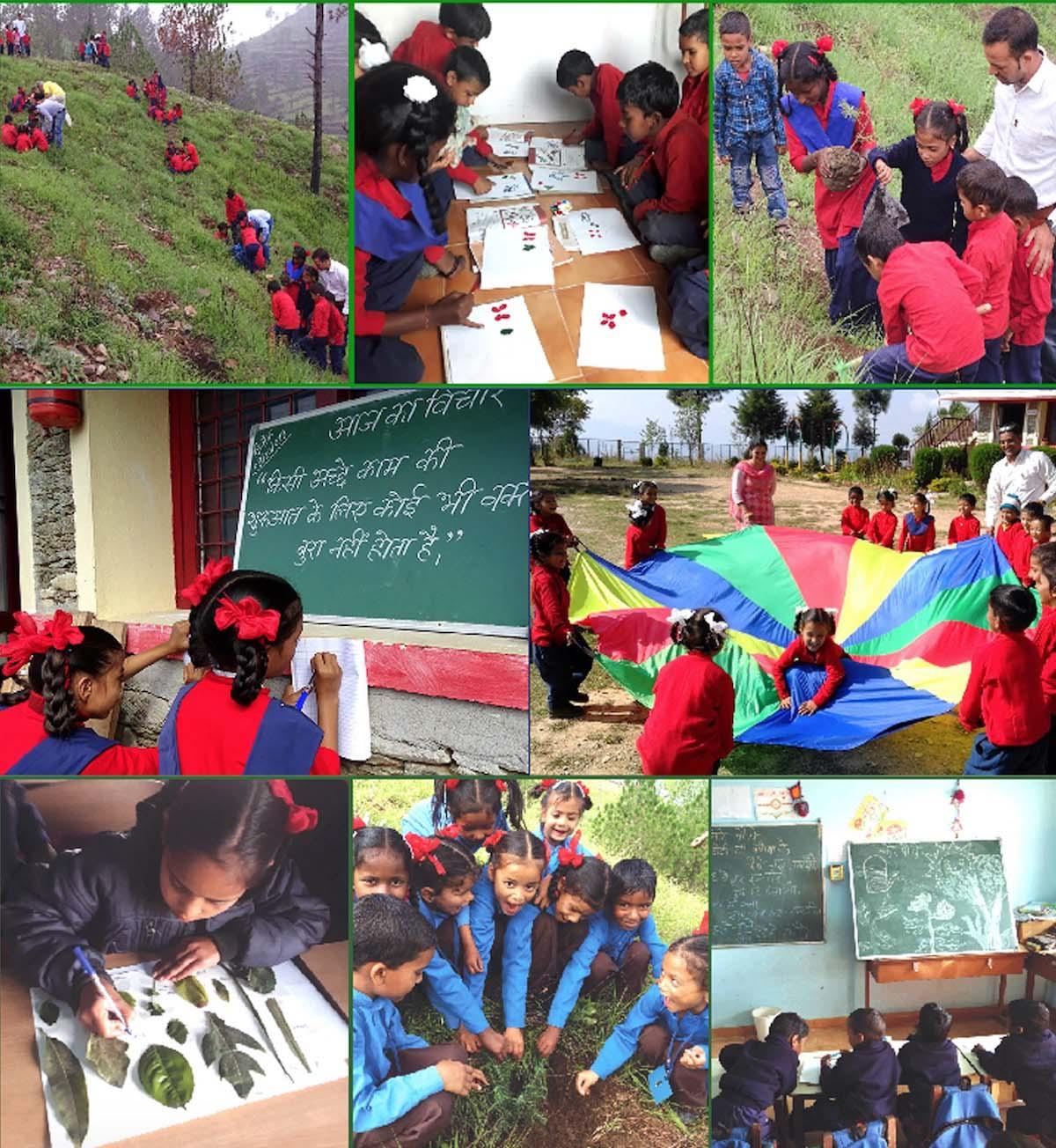 Naturschule Indien PARAMARTH AWADHAWAN – für eine neue Schulkultur