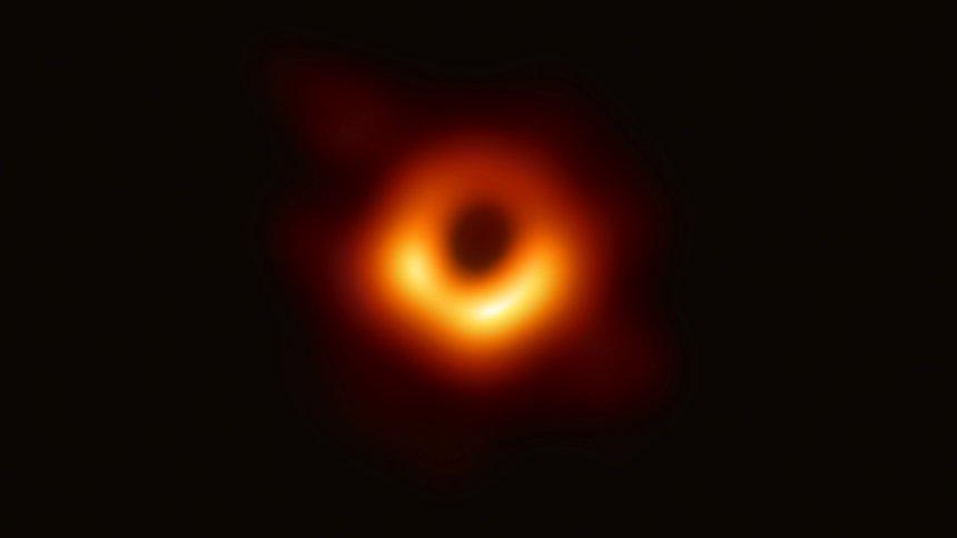 Forscher zeigen erstmals Foto von einem schwarzen Loch
