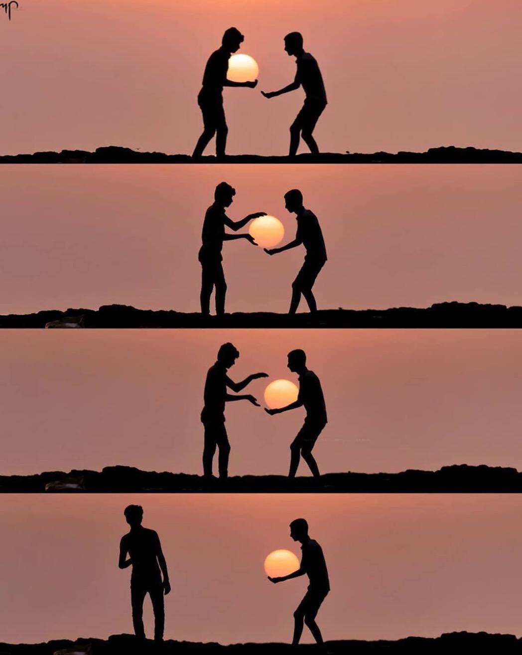 Der einfache Wunsch 'liebenswürdig mit allen zu sein'.