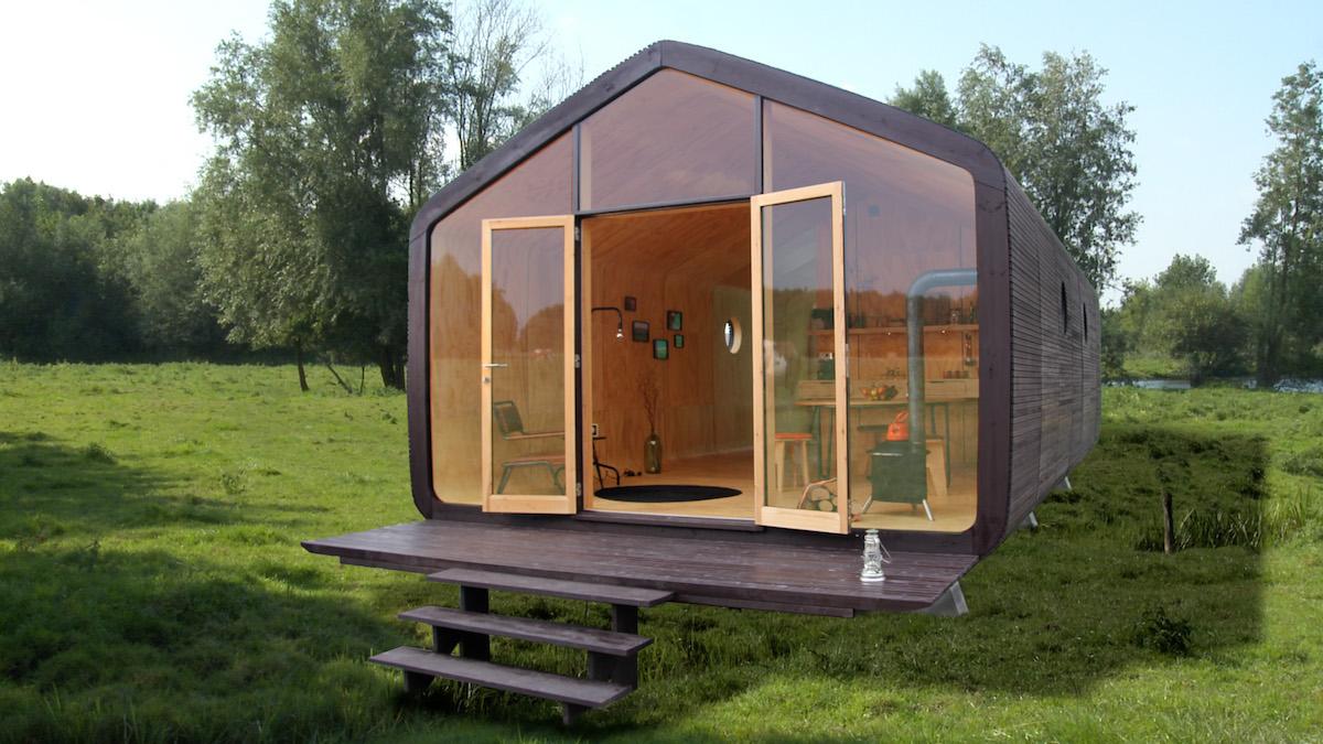 Wikkelhaus: Das umweltfreundliche Haus, das einen Hit landen wird