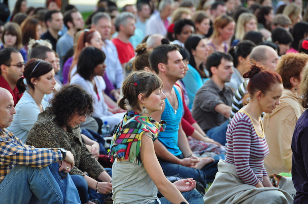 Zurich's biggest street meditation, 23rd September, 19h00